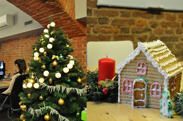 «Most festive business centre office chosen»